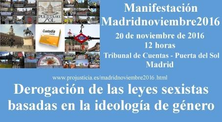 Manifestación Madridnoviembre2016  Banner2016-3